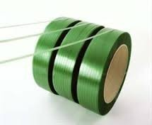 Green PET Strapping Band Polyester Strap Band