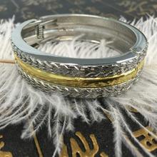 China factory Fashion new design jewelry women's gold germanium energy smart bracelet for wholesale