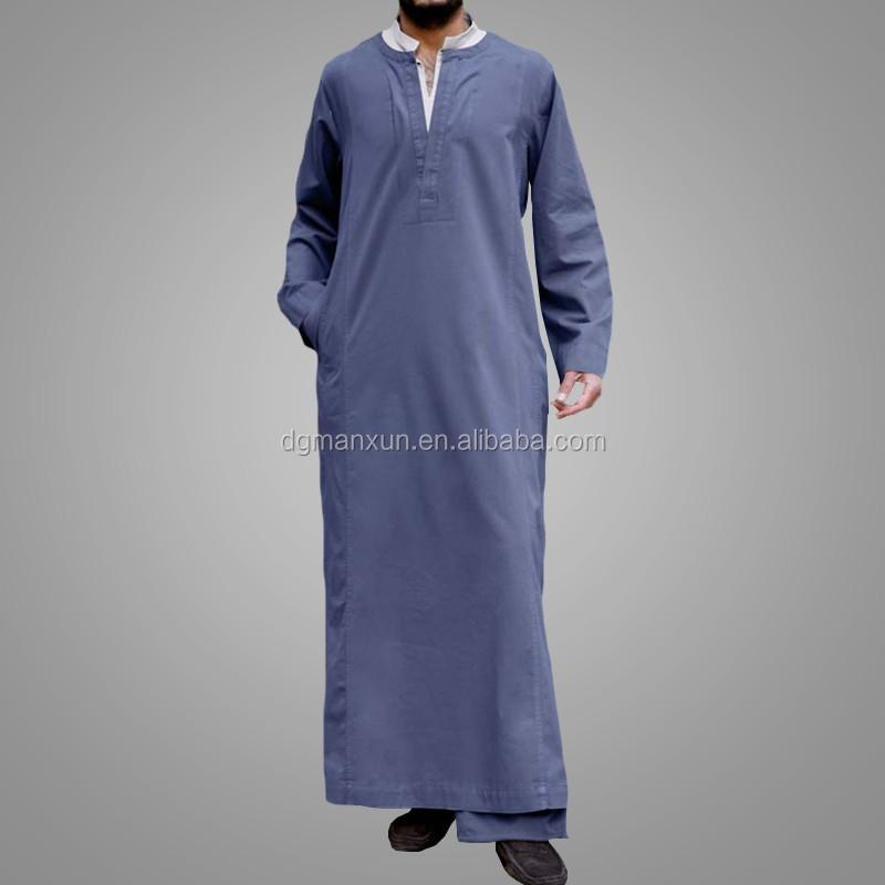 New design men thobe islamic thobe dubai men abaya3.jpg