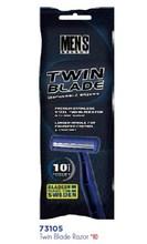 10 ct Twin Blade Razors