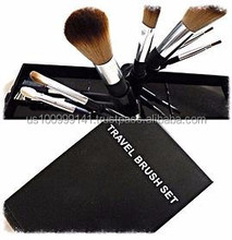 Brushes DaVinci Cosmetics Mineral Makeup 100% American -Goat, Pony, Synthetic Brushes and made with natural wood finishing. 2015