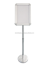 Advertising Sign Stand,Adjustable Height Poster Stand,Literature Holder
