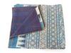 Designer Kantha Quilt Handmade Kantha Bedspread Queen Size Indian Cotton Bed Sheet Paisley Print Quilt Reversible
