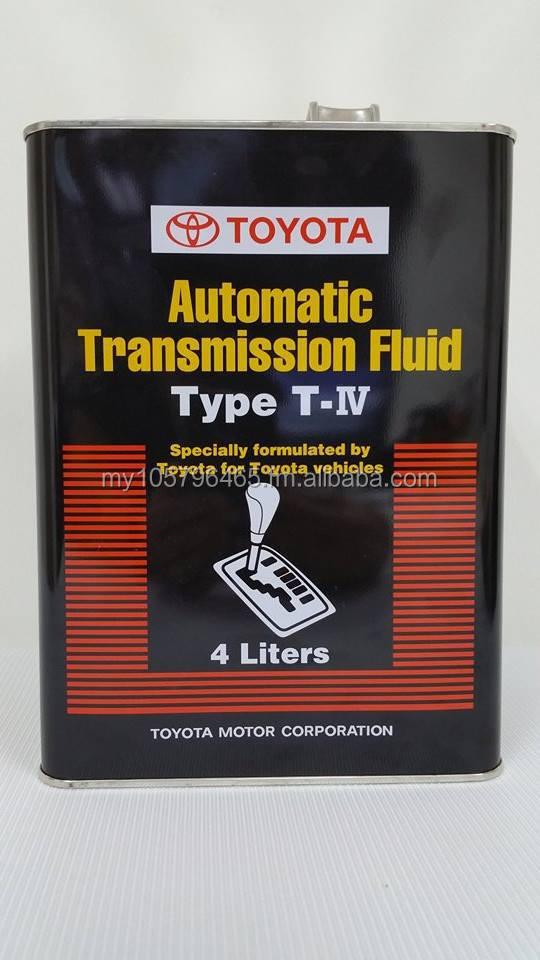 Genuine Toyota Atf T Iv Transmission Fluid Ebay