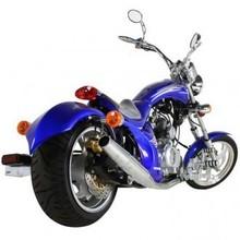 Custom Outlaw 250cc Chopper Motorcycle-Street Legal!