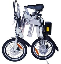 Low Selling Price + Free Shipping For X-Treme Folding Electric Bicycle