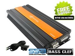 Crescendo Audio BC3500D - 3875 watts x 1 Mono Block Bass Clef Series Amplifier