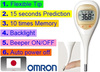 Backlight and pop up thermometer with multiple functions, made in Japan
