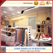 Featured Fashion showcase display, good MDF wood ,coating PU, hot sale promotions period 2015