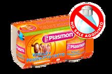 Plasmon Homogenized Calf Cooked Ham And 80gx2p