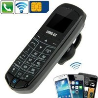3 in1 Bluetooth Mini Phone(Dual Sim) (WP-MINI16C)