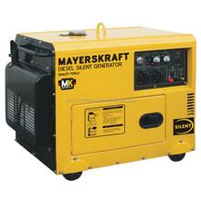 Mayerskraft MKDF6000ALDE Diesel Power Generator, 5200 Watt rated power