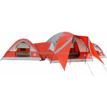 NEW Ozark Trail ConnecTENT 10 person 3 Dome Tent Camping Outdoors Family Orange