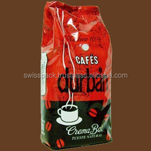 Coffee packaging bags with valve