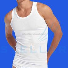 Custom cotton bulk men's vest