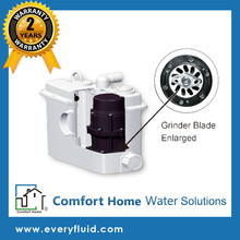 Bathroom Ejector Grinder Pump System - Comfort Home