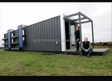 100% Solar Prefabricated Container house