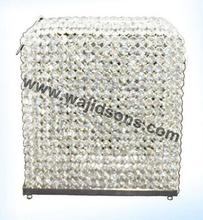 crystal card holder for decoration