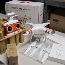 DJI Phantom 2 Vision RC Quadcopter Drone w/ Integrated FPV 1080p HD WIFI Camera