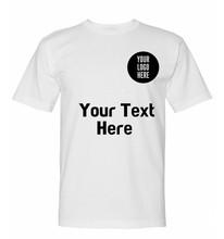 manufacturing custom white plain t shirt