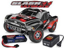 FOR NEW BrBrand New Traxxas 1 10 Slash 4x4 Ultimate w Lipo Battery and Charger