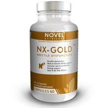 NX Gold- TM 500 mg Capsules Supports Youthful Vigour and Vitality