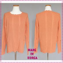 Primium distressed sweater/jumper/pullover/ made in South Korea