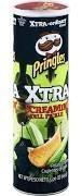 Pringles Xtra batatas fritas Screamin ' Dill Pickle