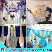 2015 hot selling cheap backdrop pipe and drape,sheer drapes for wedding