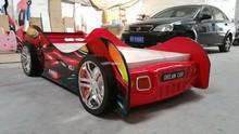 2015 New design 8003STT1SPK-01 car bed with FRP headboard LED light+3D wheel+spoiler