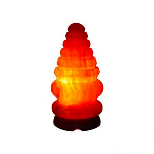 Natural Himalayan Pine 2 Salt Lamp Air Purifier On Wood Base - Buy Himalayan Pine Salt Lamp ...