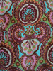 Indian culture design pattern screen printed cotton fabric / 100% cambric 98*88 size fabric