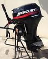 mercúrio 25 hp quatro tempos motor de popa