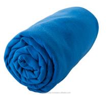 personalised printed mini suede golf towel