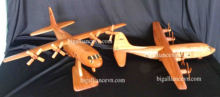 Wooden Model - Airplane C130