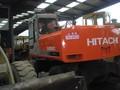 Rueda usado excavadora Hitachi EX160WD-1