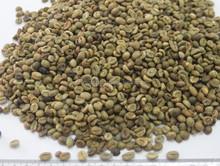 non lavati verde chicchi di caffè robusta