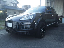 Porsche Cayenne hatchback used cars wholesale in Japan , car parts also available