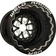 Weld Racing 784B-616B420DB-BLACK-LITE: Weld Racing V-Series Black Anodized Wheels