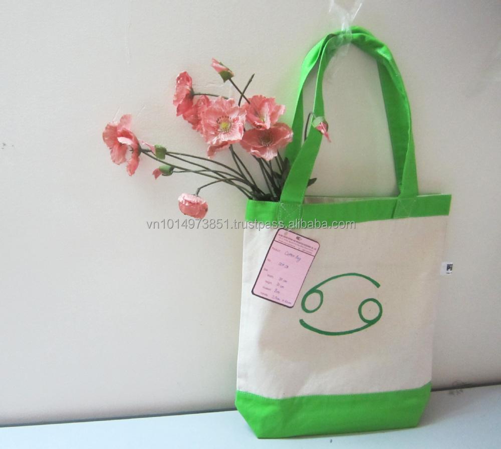 Wholesale Organic Shopping Bag  Cotton Handbag 004CB.JPG