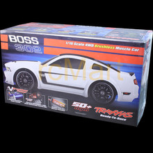 Brand New TRAXXAS FORD MUSTANG BOSS 302 4WD 1/16 w/XL-2.5 ESC and Titan