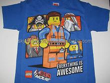 Lego movie 3d t-shirt new design