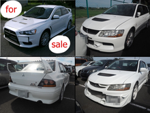 Durable and High quality used mitsubishi lancer evolution with good fuel economy made in Japan