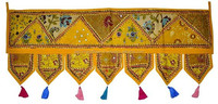 door hanging beads decorative wall hanging india door hanging door hanging basket door hanging toran Valance Cotton Topper Toran
