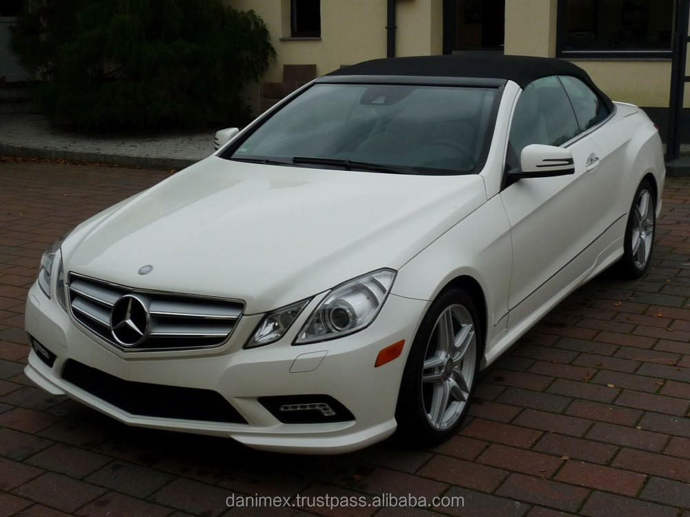 Used mercedes benz e550 convertible amg package buy for Used mercedes benz e350 convertible