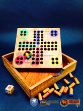 Wooden Ludo marbles games