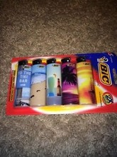 1, 5, 10, 20, 25, 50,100, 200, 500 Full Size Big BIC Lighters