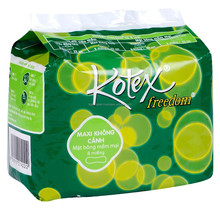 KOTEXE FREEDOM MAXI NON WINGS COTTON SURFACE PACK 8 PADS