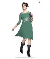Printed Chiffon Kurtis | Indian Fashion Kurtis | Bollywood Fashion Kurtis