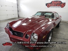 1979 Chevrolet Camaro Runs Drives Sounds Great Built 350 Cage - See more at: www.dustyoldcars.com